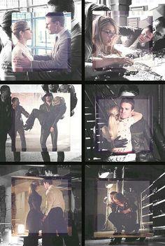 Arrow - Oliver and Felicity #Season2 #Olicity ♥