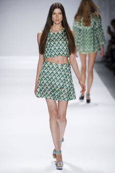 Now It's Time to Match Your Prints, So Says the Spring 2014 Fashion Week Runways