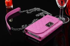 chanel case with chain mirror for iphone x 8 7 6s plus cover coque rose