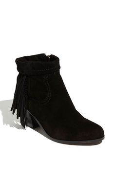 Free shipping and returns on Sam Edelman 'Louie' Boot at Nordstrom.com. A cascade of tassels falls down to the heel of a chic ankle boot featuring a collar that can be cuffed for a different look.