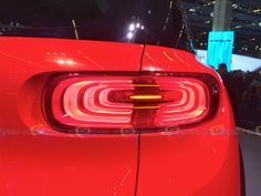 Citroen Aircross Concept - Taillight - Want to see more? Follow the link on the photo for Citroen at IAA Frankfurt 2015!