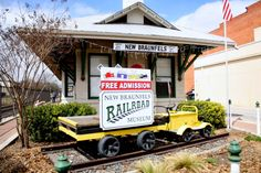 Free Fun in Austin: Kids Fun Day at New Braunfels Railroad Museum