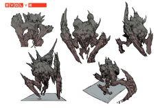Картинки по запросу evolve kraken concept art