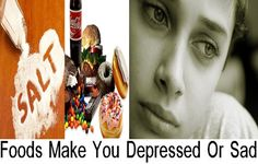 The Foods That Can Make You Depressed Or Sad - No one can deny the importance of food in our life, food is not only important in providing our bodies with the essential vitamins, minerals and nutrients to ensure a proper function for the organs and systems of the body but it also has a significant impact on our mood and physiological state.... - Depressed, Depressed Foods, Depressed Sad Foods, foods, Foods Depressed Sad, Sad, Sad Foods - Food, Health, health care