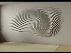 Seattle Trekker – Wall Relief Using Drywall and Drywall Mud Plaster Crafts, Plaster Art, Plaster Walls, Plaster Sculpture, Sculptures Céramiques, Sculpture Art, Decor Interior Design, Interior Decorating, Drywall Mud