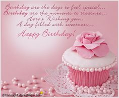 A beautiful Birthday card for your near and dear ones !!