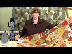 Quilting Quickly: Learn to make quick & easy quilts using precuts with instructor Jenny Doan