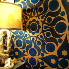 Florence Broadhurst wallpaper from @Horatio Franco in @Arden Stephenson #DOAD room Photo by quintessence
