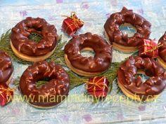 Nugátové kroužky Doughnut, Nutella, Desserts, Food, Tailgate Desserts, Deserts, Essen, Postres, Meals