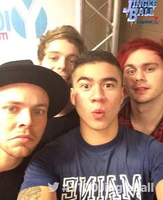 Still can't get over cal's hair.. But I'm sure I'll get used to it