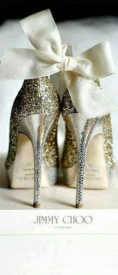 Sparkling Silver Jimmy Choo New Years Eve