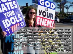 Fred Phelps' Granddaughter Leaves Westboro Baptist Church With Emotional Blog Post