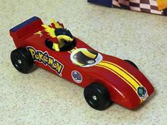 In pinewood derbies across the country, Cub Scouts are racing Pikachu, Turtwig and Charizard cars inspired by the Pokémon universe.