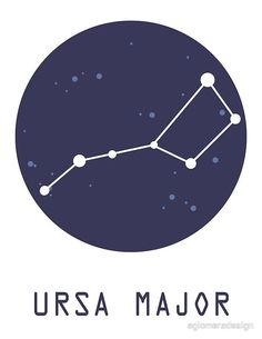 Buy 'Ursa Major Constellation' by aglomeradesign as a T-Shirt, Classic T-Shirt, …, – Constellation Tattoo Foot Tattoos, Arm Tattoo, Ursa Major, Big Dipper, Star Constellations, Constellation Tattoos, Shoulder Tattoo, Astronomy, Classic T Shirts