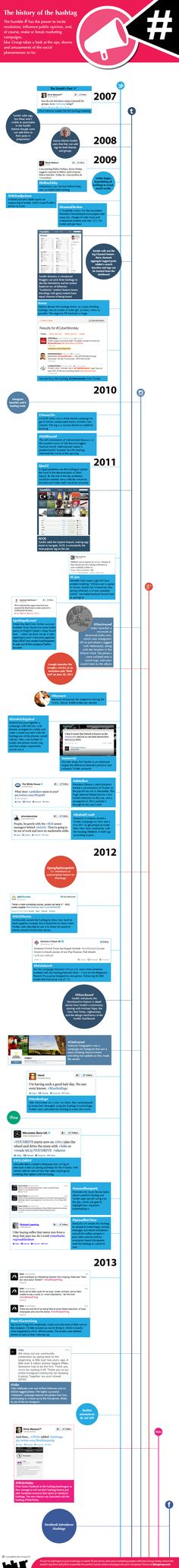 The Revolution Of #Hashtag #Infographic #SocialMedia