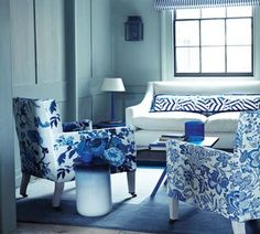 Floral Patterned Sofa For Living Room