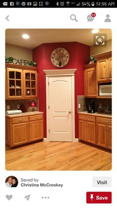 kitchen wall colors with oak cabinets small kitchen red kitchen accents accent wall in kitchen colors paint image result for red kitchen walls with white antiqued cabinets