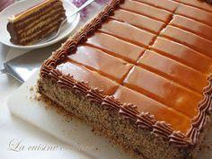 La cuisine creative: Doboš torta Dobos Cake Recipe, Torta Recipe, Torte Recepti, Kolaci I Torte, Baking Recipes, Cookie Recipes, Dessert Recipes, Desserts, Serbian Recipes
