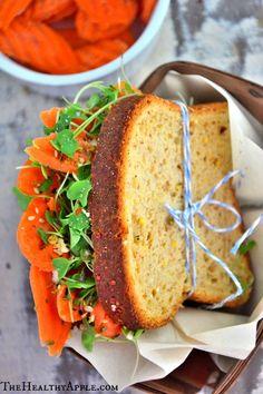 Easy #GlutenFRee Veggie Sandwich