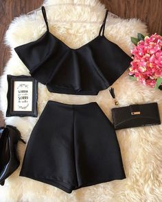 Loja Rhayane Diniz- Loja Rhayane Diniz- Trendy-Summer-Outfits-Ideas-for-Teen-Girls-to-TryTenue de fille - Summer Outfits Tenue de fille, Perfect School Outfits For Teen Girls Teenager Fashion Trends, Teen Fashion Outfits, Mode Outfits, Cute Fashion, Dress Outfits, Girl Outfits, Dresses, Cute Outfits For School, Cute Summer Outfits