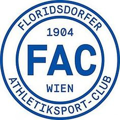 Floridsdorfer AC of Vienna, Austria crest. Sports Clubs, Football Team, Logos, Vienna Austria, Crests, Badges, Soccer, Football Soccer, Name Badges