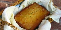 #RECETA Panqué de limón y miel en licuadora – Animal Gourmet