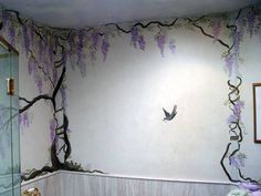 wisteria trompe l'oeil - Google Search