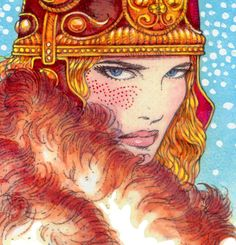 Celtic Irish Art Print Queen Maeve 16x11 by Jim Fitzpatrick Irish Ireland | eBay