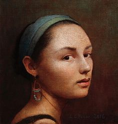 Louise Camille Fenne (Born - The Women Gallery Basic Painting, Fine Art, Art, Florence Academy Of Art, Portrait Painting, Featured Artist, Portrait Art, Realistic Paintings, Portrait Gallery