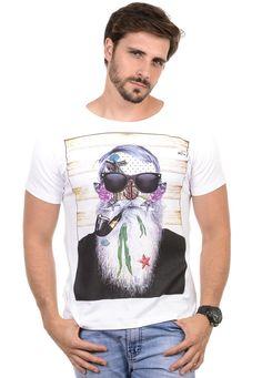 Camiseta Masculina Brisa do Mar - Cupom de Desconto [ diboa ]