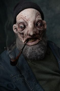 Innsmouth Fishman by Joel Harlow / https://www.facebook.com/JoelHarlowDesigns/photos/a.388634031263400.1073741843.220847021375436/388634061263397/?type=3&theater