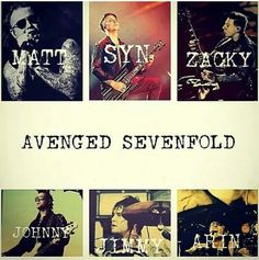 ♡Avenged Sevenfold♡ credit to whom ever made this