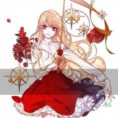 Cre: Mọi Nơi ( everywhere :v ) 👑 Follow mình nhé? 👑 Follow me? - P i n t : Lâm Cẩm Duyên - Character Design, Character Art, Character Inspiration, Drawings, Anime Princess, I Love Anime, Cute Art, Art Girl, Anime Characters