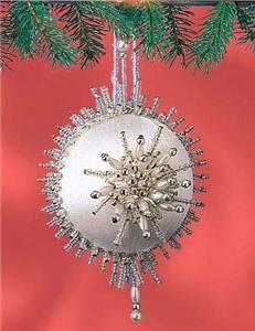 Purple pearl  sequin pin ornaments  Pinterest  Victorian