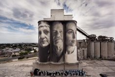 An internationally-recognised street artist has returned to his home town of Geelong to re-invent an unused building.
