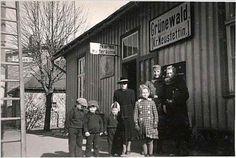 Bahnhof Grünewald (Kr. Neustettin), - 1944