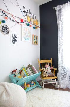 我們看到了。我們是生活@家。: 美國的Jen佈置這間可愛的房給兩個女孩Rowan與Finley!