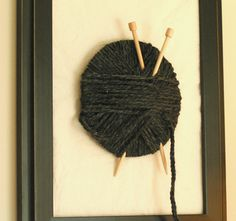 knitter's wall hanging