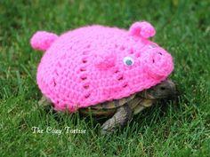 Schwein Tortoise Cozy - Bestellung - Schildkröte - Yard Finder - Cozie häkeln…