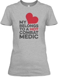 COMBAT MEDIC - MY LOVE | Teespring