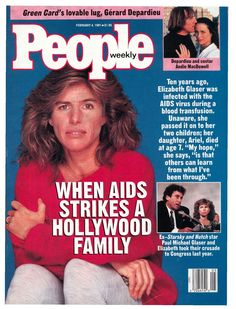 "2/4/1991: Elizabeth was the cover story for a 1991 February issue of People Magazine. The piece included an excerpt from her autobiography ""In The Absence of Angels."" (Photo Credit: People)"