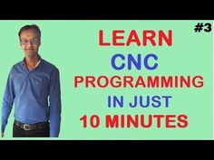 CNC G Code Programming: A CNC Mill Tutorial explaining G Codes - YouTube