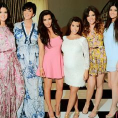 Kardashian and Jenner. They are just really pretty!