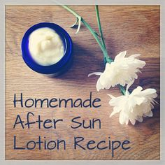 DIY Homemade After Sun Lotion Recipe | Thought Clothing