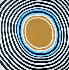 suchasensualdestroyer:    Ronnie Tjampitjimpa (unknown group, Aboriginal Australian), Moon Dreaming, acrylic/canvas, c. 2003.    (via suchasensualdestroyer-deactivat)