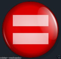 PINK RED EQUALS SIGN GAY MARRIAGE PRIDE LGBT BUTTON EQUALITY FACEBOOK RIGHTS @eBay! http://r.ebay.com/jUsNmS #PINKEQUALSIGN #PINKEQUALSSIGN #LGBT #GLBT #GAYEQUALITY #GAYRIGHTS #EQUALITY #PINKEQUALS #EQUALSIGN