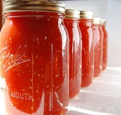 Crushed Tomatoes! Versatile Recipe (Quart Jars= 1/2 tsp. citric acid/ 2 Tbsp bottled lemon juice/ 4 Tbsp 5% acidity vinegar. Pint jars= 1/4 tsp citric acid/ 1 Tbsp lemon juice/ 2 Tbsp vinegar)