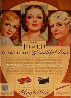 20.  This vintage Maybelline ad made Haley think about how she learned about makeup and Maybelline from her grandma, mom, and sister.  Maybelline makeup  helps connect Haley with her family role models and this ad reinforced that feeling.