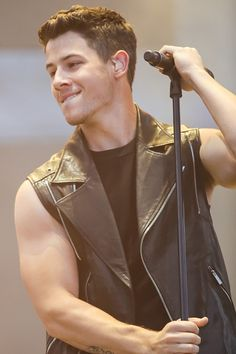 WOW! Look at those muscles  Nick Jonas