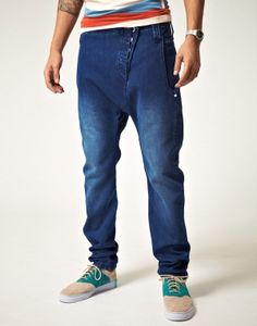 Hawttt - HUMÖR Drop Crotch Jeans Drop Crotch Jeans, Jeans Style, Parachute Pants, Trousers, Handsome, Style Inspiration, Mens Fashion, My Style, Clothes